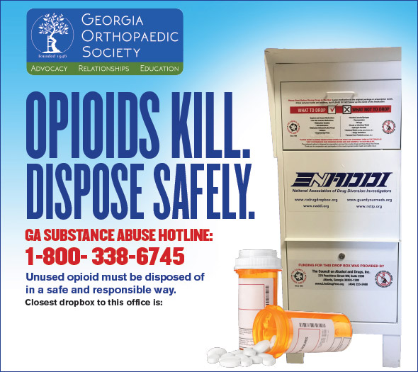 GOS Opioid Patient Education Poster
